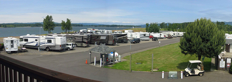 Columbia Riverfront RV Park – Woodland, WA